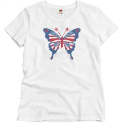 Fourth of July Butterfly