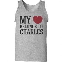 Heart belongs to Charles
