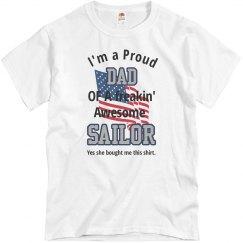 Proud Dad of Sailor Daughter