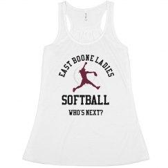 Ladies Softball Tank