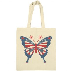 American Butterfly Tote