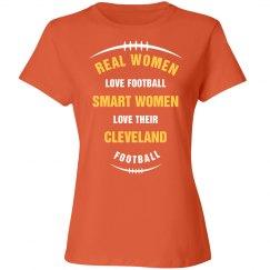 Real women love cleveland football