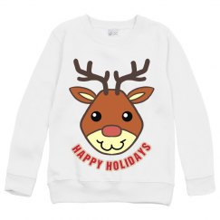 Youths Reindeer Sweater