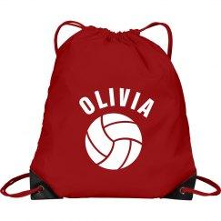 Olivia volleyball bag