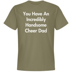 Incredibly handsome cheer dad