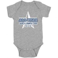 All-Star Newborn Onesie