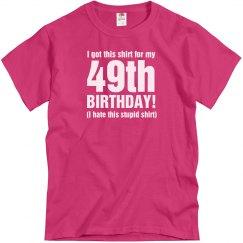 49th Birthday