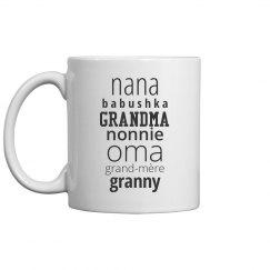 Cultured Grandmother Mug