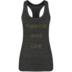 Yogarinas don't care top
