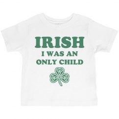 Funny St Pats Kid Shirt Irish