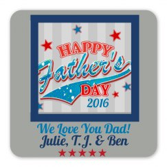 Custom Father's Day Magnet Gift