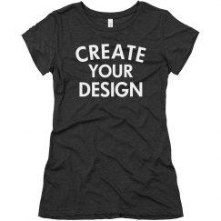 Personalized Tri-blend T-Shirt