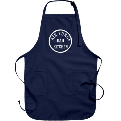 Air force dad apron