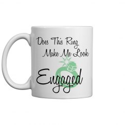 Engaged Coffee Cup- Mint