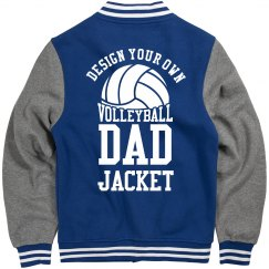 Design Your Own Volleyball Dad