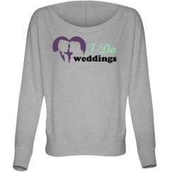 I Do Weddings Heart