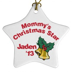 Mommy's Star Ornament