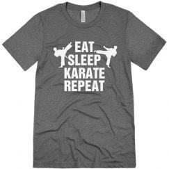 Eat sleep Karate Repeat