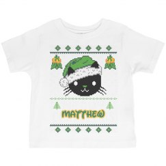Ugly Christmas Tee Kids