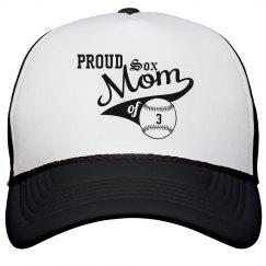 Proud Baseball Mom Hat