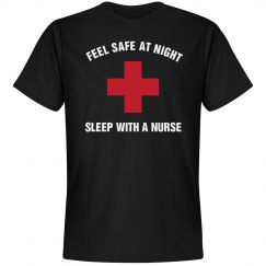 Feel safe sleep with a nurse
