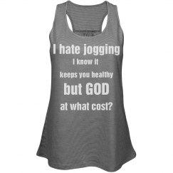 I hate jogging