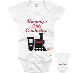 Mommy's little conductor
