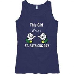 This Girl Loves St Patricks Day