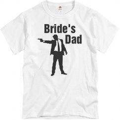 Bride's dad shirt