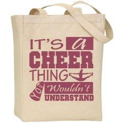 Cheer Thing Tote Bag