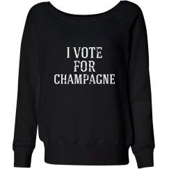 Vote For Champagne