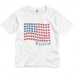 Madeline USA Flower Flag