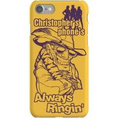 Pimp Chris iPhone Cover