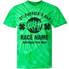 Custom St Patricks Day Run Walk