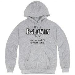 Its a Baldwin thing