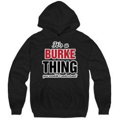 It's a Burke thing