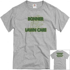 Lawn care business shirt