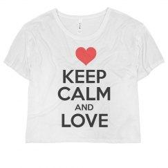 Keep Calm And Love