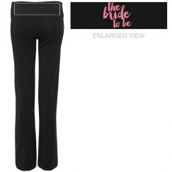 Bride To Be Yoga Pants