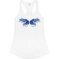 Blue Fancy Butterfly