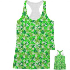St Patrick's Day Shamrocks Pattern