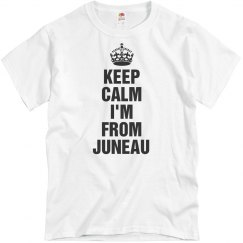 I'm  from Juneau