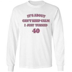 I turned 40