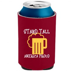 STAND TALL WHITENEON BEER COOLER