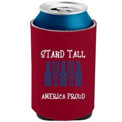 STAND TALL YELLOW BEER COOLER