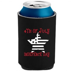 4TH OF JULY CAMOGREEN CAN KOOLER