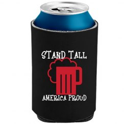 STANDTALL NEON-BLACK BEER COOLER