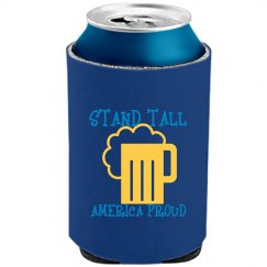STANDTALL YELLOW AQUABLUE COOLER