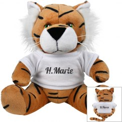 B Fierce Tiger Plush
