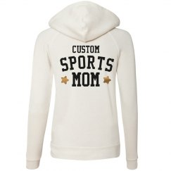 Metallic Custom Sports Mom Design